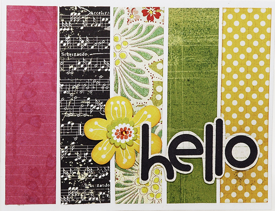 0002 Simple Stripe Hello Card cropped