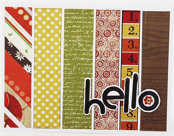 0004 Simple Stripe Hello Card cropped